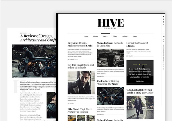 Hive Theme — WordPress Themes for Blogs at WordPress.com