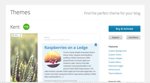 Kent Theme — WordPress Themes for Blogs at WordPress.com