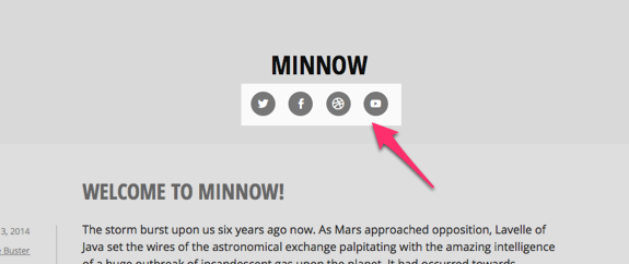 Minnow | Simple life, simple theme