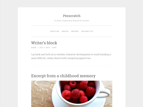 Penscratch Theme — WordPress Themes for Blogs at WordPress.com