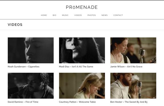 Videos   PRōMENADE
