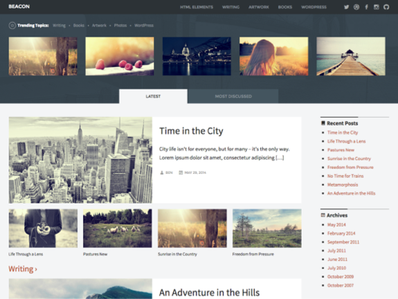 Beacon Theme — WordPress Themes for Blogs at WordPress.com
