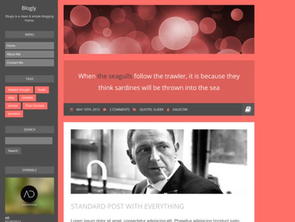 Blogly Theme — WordPress Themes for Blogs at WordPress.com