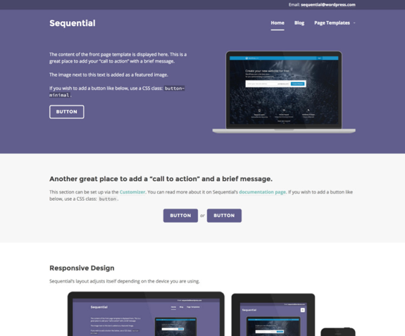 Sequential Theme — WordPress Themes for Blogs at WordPress.com