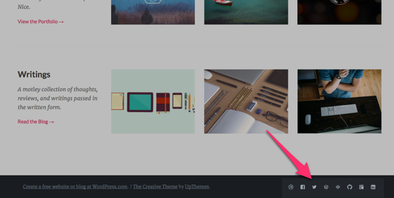 Creative | Show off your design skills and style with Creative by UpThemes-1
