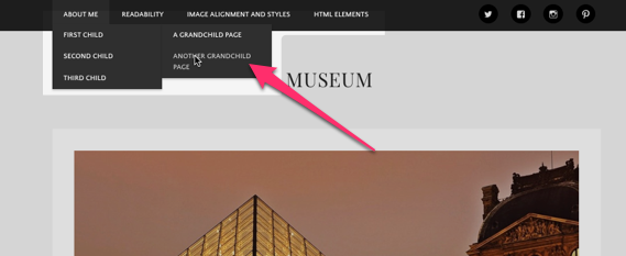 Museum | Museum is a theme crafted to showcase all of your best photographs, drawings, or illustrations-1