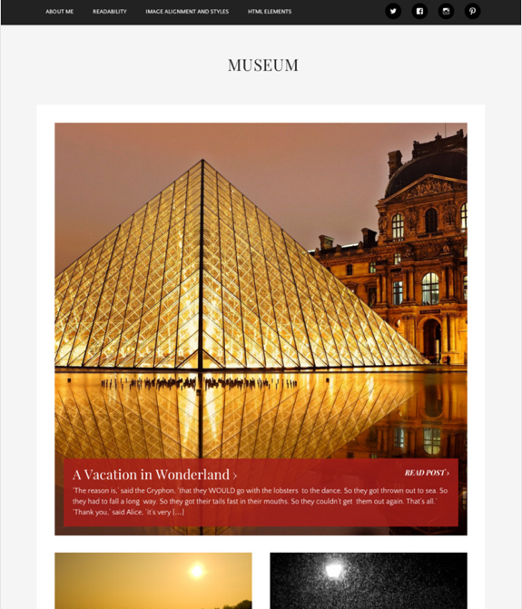 Museum Theme — WordPress Themes for Blogs at WordPress.com-1