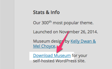 Museum Theme — WordPress Themes for Blogs at WordPress.com