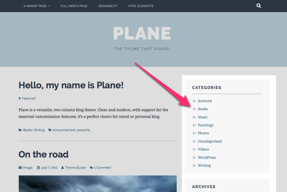 Plane – The theme that soars!