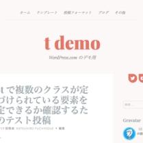 Customizer ‹ t demo — WordPress.com-21