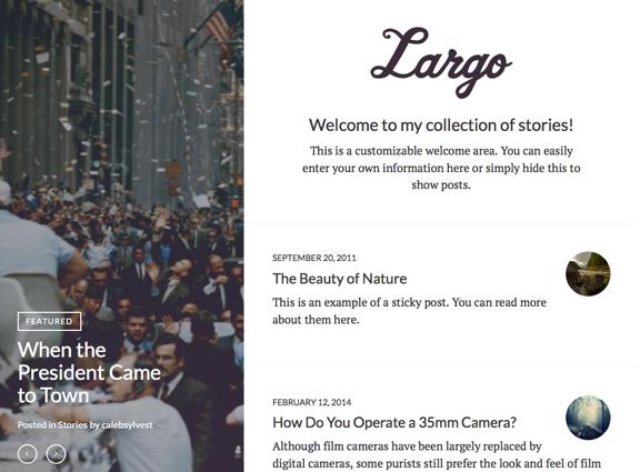 Largo | A storyteller_s dream.Largo | A storyteller_s dream.