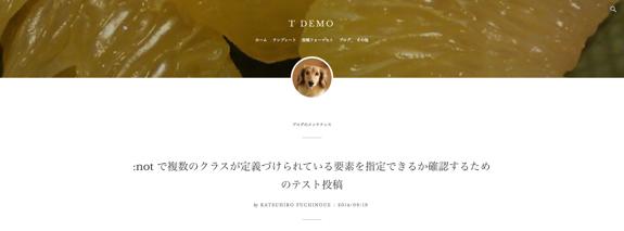 t demo | WordPress.com のデモ用-13