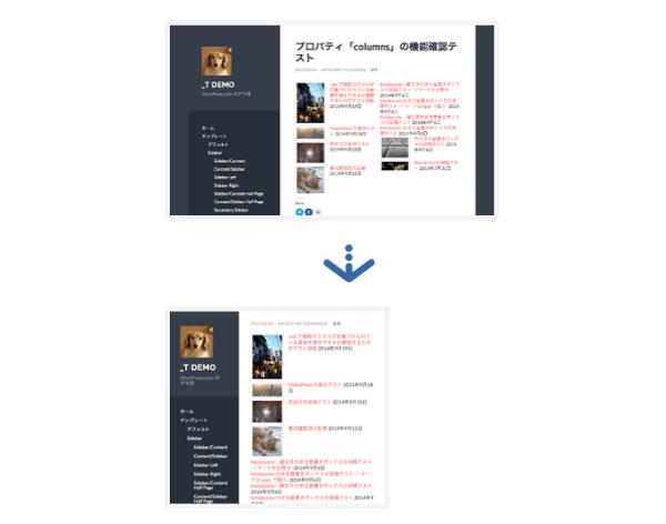 【WordPress-com】ショートコード「display-posts」をカスタム CSS なしにそれなりに表示させる -プロパティ「columns」を使って、レスポンシブっぽくする-   comemo 2015-02-24 14-06-23