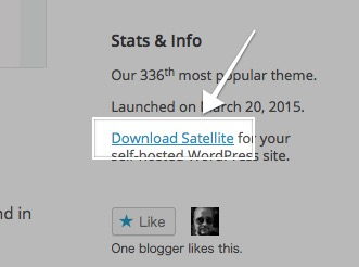 Satellite Theme — WordPress Themes for Blogs at WordPress.com