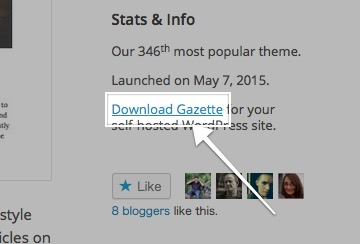 Gazette Theme — WordPress Themes for Blogs at WordPress.com