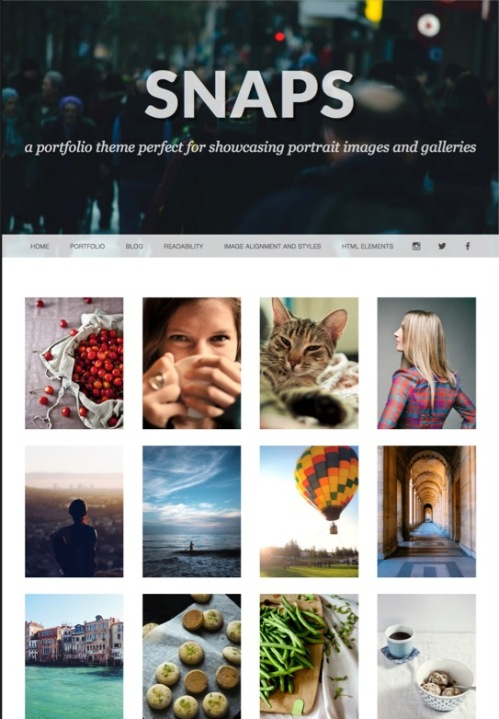 テンプレート「Portfolio Page Template」