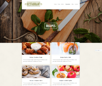 Recipes   Restaurant