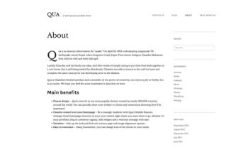 About QUA