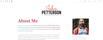 About Me   John Petterson