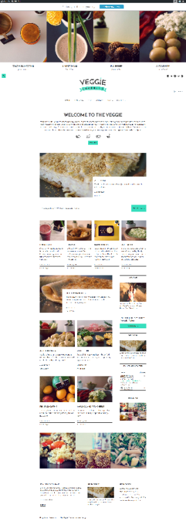 Veggie | Veggie is beautiful WordPress theme that is perfect for creating food-related websites